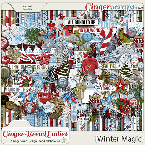 GingerBread Ladies Monthly Mix: Winter Magic
