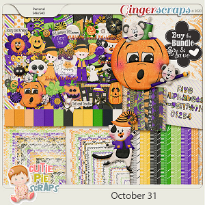 October 31st-Bundle by Cutie Pie Scraps