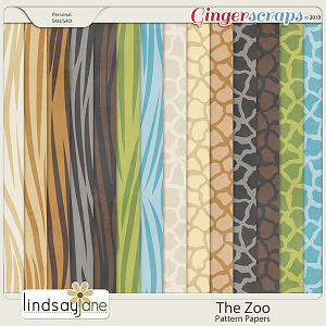 The Zoo Pattern Papers by Lindsay Jane