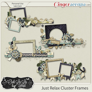 Just Relax Cluster Frames