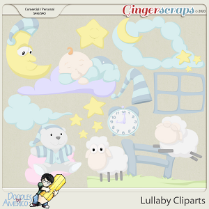 Doodles By Americo: Lullaby Cliparts