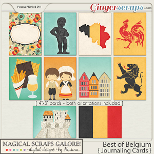 Best of Belgium (journaling cards)