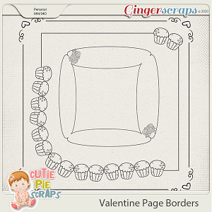 Valentine Page Borders 02