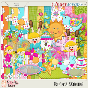 Colorful Sunshine Page Kit
