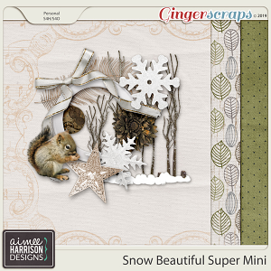 Snow Beautiful Super Mini Kit by Aimee Harrison