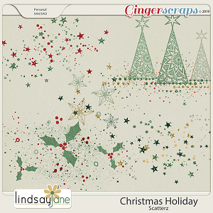Christmas Holiday Scatterz by Lindsay Jane