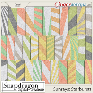 Sunrays Starbursts Papers
