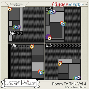 Room To Talk Volume 4 - 12x12 Temps (CU Ok) by Connie Prince