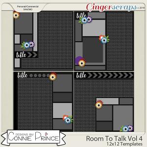 Room To Talk Volume 4 - 12x12 Temps (CU Ok) by Connie Prince