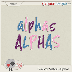 Forever Sisters Alpha Pack by Luv Ewe Designs