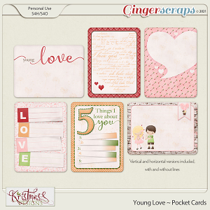 Young Love Pocket Cards