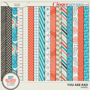 You Are Rad Papers by JB Studio