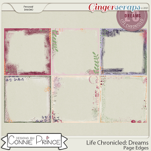 Life Chronicled: Dreams - Page Edges by Connie Prince