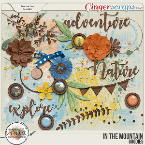 In The Mountain - Goodies - by Neia Scrap