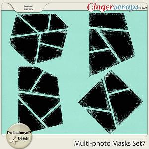 Multi-photo Masks Set7