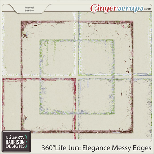 360°Life June: Elegance Messy Edges by Aimee Harrison
