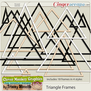 Triangle Frames by Clever Monkey Graphics