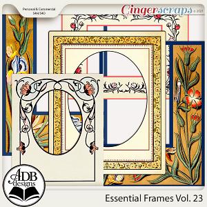 Essential Frames Vol 23 by ADB Designs