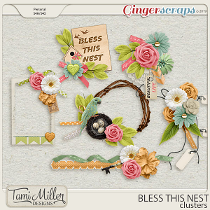 Bless This Nest Clusters by Tami Miller Designs