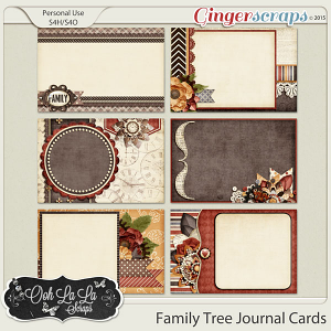 Family Tree Journal and Pocket Scrapbooking Cards