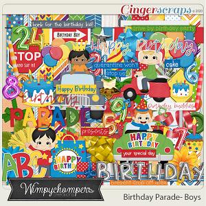 Birthday Parade- Boys