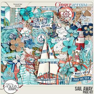 Sail Away - Page Kit - by Neia Scraps