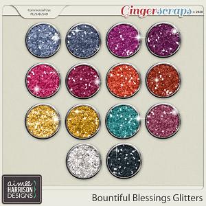 Bountiful Blessings Glitters by Aimee Harrison