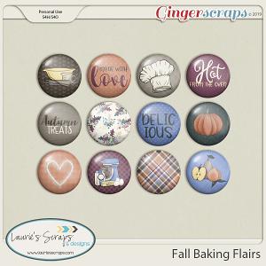 Fall Baking Flairs