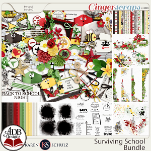 Surviving School Collection by Karen Schulz and ADB Designs