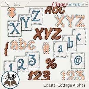 Coastal Cottage Alphas by ADB Designs