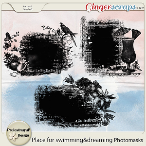 Place for swimming&dreaming Photomasks