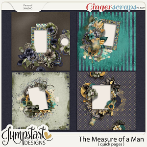 The Measure of a Man {Quick Pages} by Jumpstart Designs