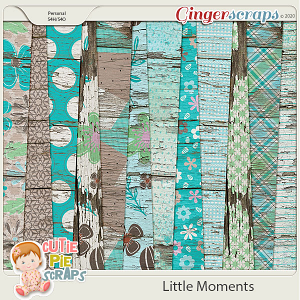 Little Moments Wood Papers
