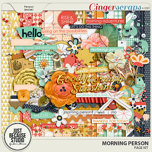 Morning Person Page Kit by JB Studio