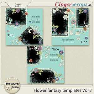 Flower fantasy Templates Vol.3