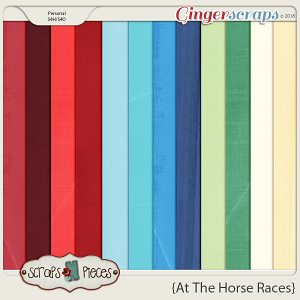 At The Horse Races Cardstocks by Scraps N Pieces