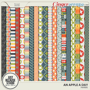 An Apple A Day Papers by JB Studio