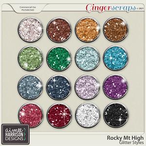 Rocky Mt High Glitters by Aimee Harrison