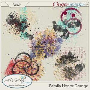 Family Honor Grunge