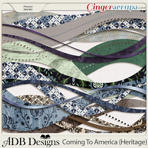 Coming To America Borders by ADB Designs