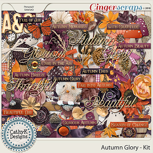 Autumn Glory - Kit by CathyK Designs