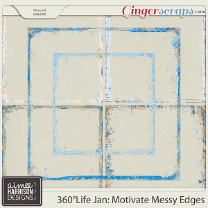 360°Life Jan: Motivate Messy Edges by Aimee Harrison