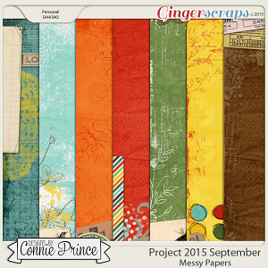 Project 2015 September - Messy Paper Pack