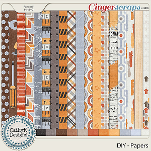 DIY - Papers by CathyK Designs