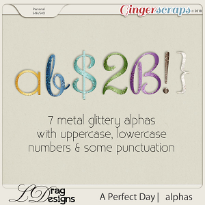 A Perfect Day: Alphas by LDrag Designs