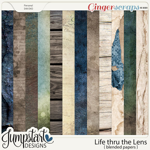 Life thru the Lens {Blended Papers} by Jumpstart Designs