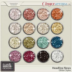 Headline News Glitters by Aimee Harrison