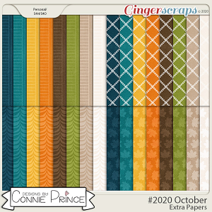 #2020 October - Extra Papers by Connie Prince