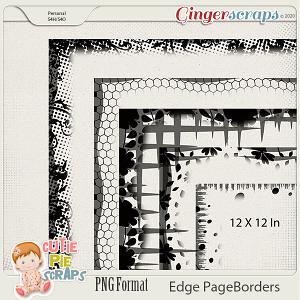 Edge Page Borders 02  By Cutie Pie Scraps