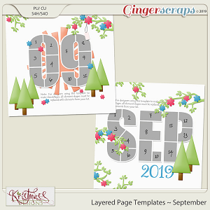 Layered Page Templates ~ September
